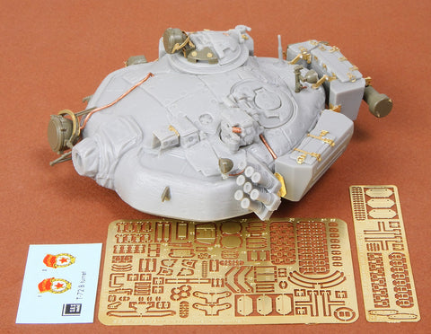 SBS Model 1/35 SBS35007 T-72 B/B1 turret for Tamiya kit