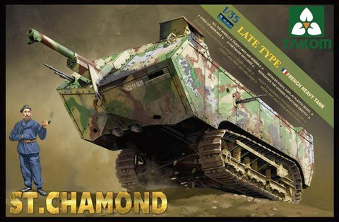 TAKOM 1/35 FRENCH  ST. CHAMOND  Heavy Tank