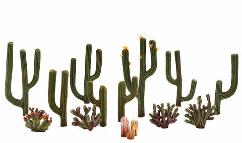 Woodland Scenics Ready Made Cactus Plants - TR3600