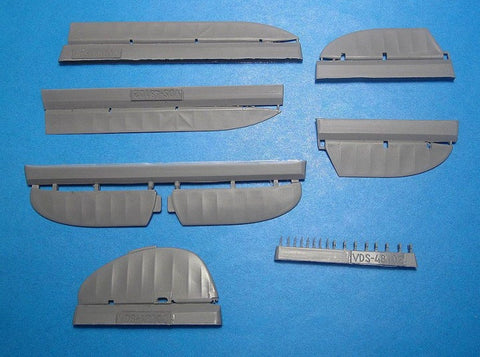 "1/48 Vector Resin I-153 ""Chaika""Control Surface set - VDS48102"