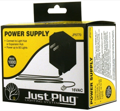 Woodland Scenics JP5770 Just Plug - Power Supply
