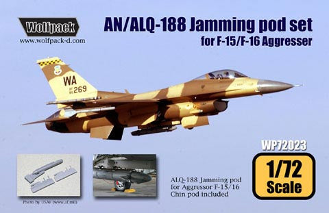 Wolfpack 1/72 AN/ALQ-188 Jamming Pod WP72023