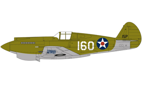 Airfix A05130 CURTISS P40B in 1:48