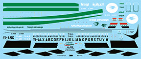 Fundekals 1/144 Decals ILYUSHIN IL-76 IRAQI Liveries Unlimited - 44-008