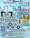 Speed Hunter Graphics 1/48 decals USAF C-model Spooks for Zoukei Mura F-4C