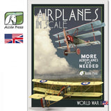 Airplanes in Scale III - More Aeroplanes are needed - World War l (English) ACP-146