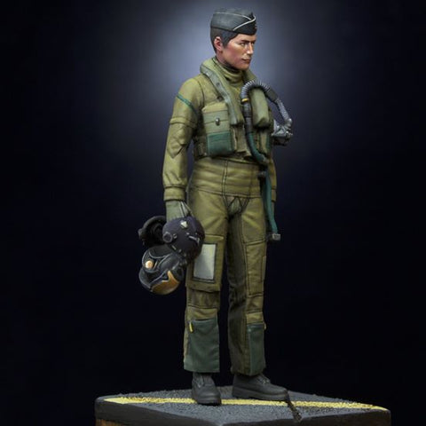 Model Art 1/32 scale 3D design JASDF F-35A pilot figure in resin