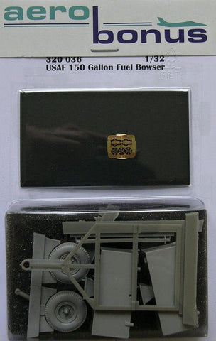 Aerobonus 1/32 resin USAF 150 gallon fuel bowser - 320036 by Aires