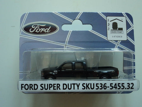 River Point HO scale 536-5455.32 Ford 08 F-450 Series Super Duty 4X4 DRW Diecast