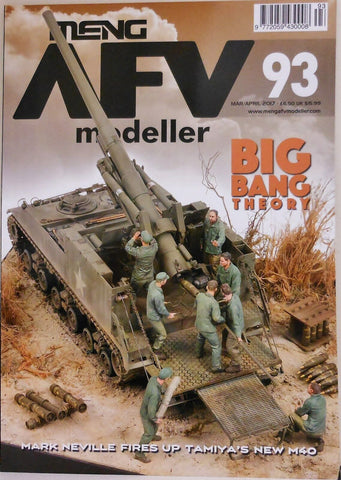 Meng AFV Modeller Magazine #93 - March/April 2017 BIG BANG Theory – 2017