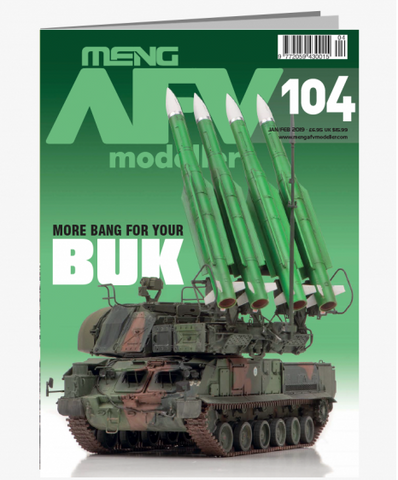 MENG AFV Modeller - More Bang For Your BUK Issue 104 JAN/FEB 2019