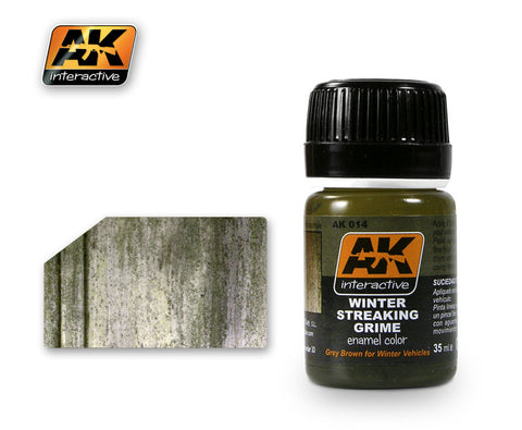 AK Interactive weathering effects color enamels military hobby 35ml Choose your color