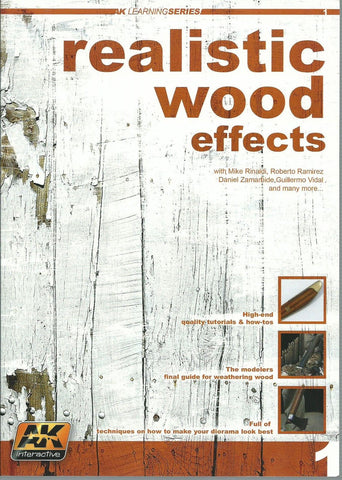 AK Interactive Realistic Wood Effects Book - AK259