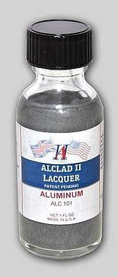 Alclad II Lacquer Aluminium for airbrushing - 1 fl oz - ALC101