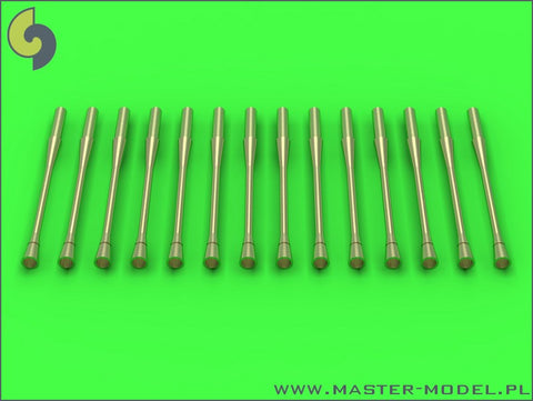 Master Model 1/32 Static dischargers for MiG jets (14pcs) - AM32066