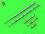 Master Model 1/32 MiG-17PF Fresco D gun barrels set & Pitot Tubes AM32070