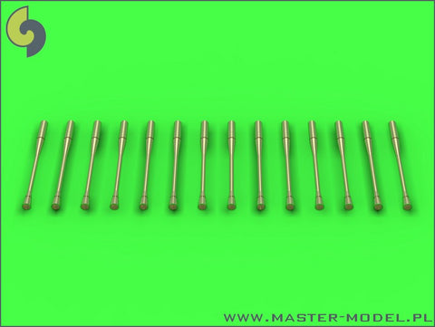 Master Model 1/48 scale Static dischargers for MiG jets (14pcs) - AM-48087