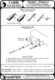 Master Model 1/48 Fairey Firefly Hispano cannons uncovered barrels - AM-48095