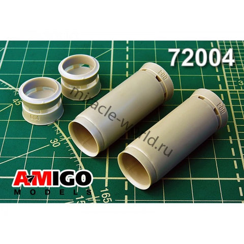 Advanced Modeling 1/72 RD-7M turbojet engine intake for Tu-22KD kits Amigo line