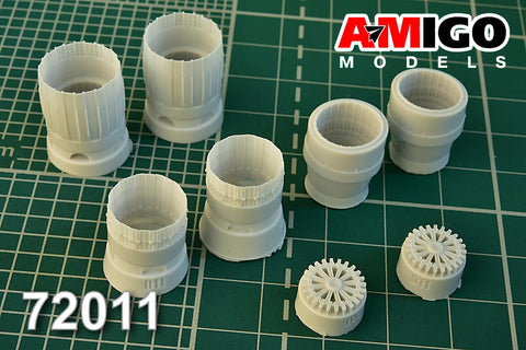 Advanced Modeling 1/72 RD-33 exhaust nozzle for MiG-29 for Zvezda - AMG72011