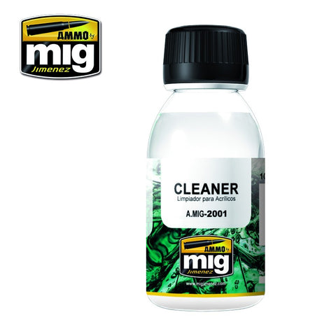AMMO of Mig Jimenez Universal Cleaner por acrylic paints (100 ml) - AMIG2001