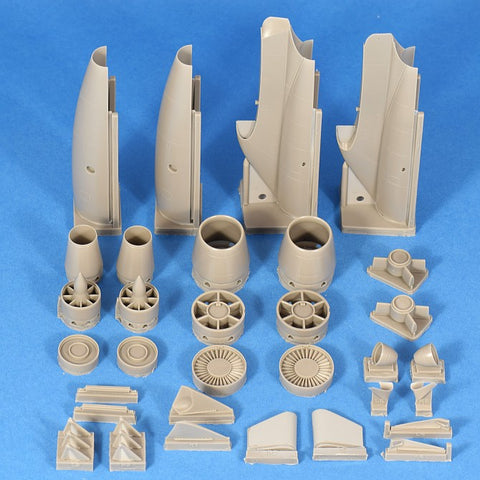 Hypersonic Models 1/48 Resin A-3 Skywarrior Engines for Trumpeter - HSMR48021