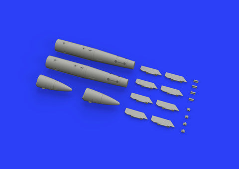 Eduard Brassin 1/48 B43-1 Nuclear Weapon w/ SC43-4/- 7 Tail Assembly - EDU648448