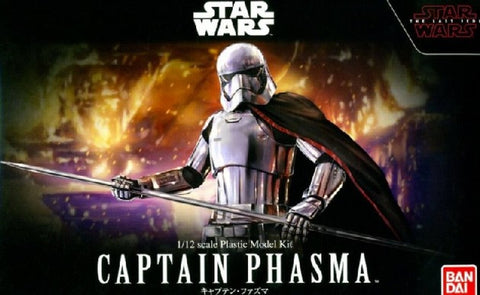 "Ban Dai 0219776 1/12 Star Wars ""The Last Jedi"" Captian Phasma Model Kit"