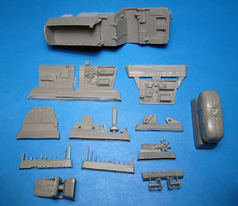 Vector 1/48 scale A20B/C Boston/Havoc pilot's cockpit for AMT/Italeri/Revell
