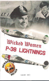 Bombshell decal 1/32 P-38 Lightings Wicked Women pt 1 for Trumpeter