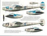 "Bombshell decals 1/32 P-38 Lightning ""Wicked Women"" pt 2 Trumpeter 32-BS-0006"