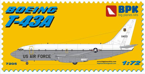 Big Planes Kits 1/72 Boeing T-43A US Air Force 737 BPK 7205