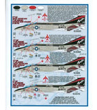 Furball Aero-Design 1/72 decals Bravo MIG Killers F-4B Phantoms 72-001