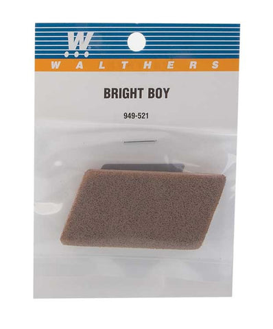 Walthers 949-521 Bright Boy Abrasive Track Cleaner - Standard Grit