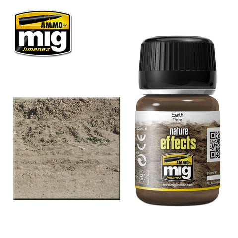 EARTH (Dirt) - AMIG-1403 Ammo by Mig Enamel type product for nature effects