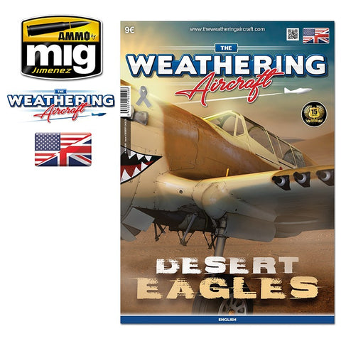 AMMO by Mig Jimenez The Weathering Aircraft Magazine #9 DESERT EAGLES - AMIG5209