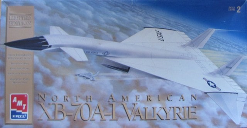 AMT 1/72 scale North American XB-70A1 Valkyrie - 8908 - New Old Stock