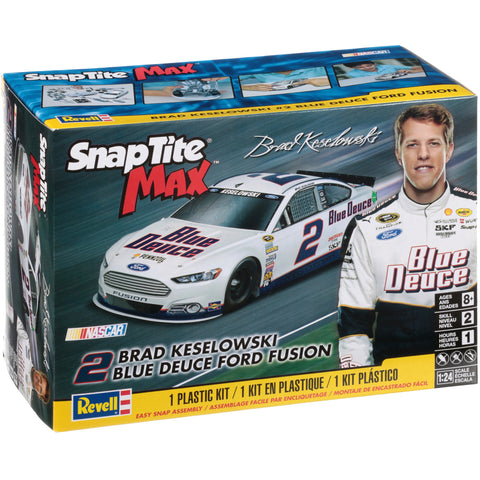 Revell 1/24 Scale Snap Tite Max Brad Keselowski Blue Deuce Ford Fusion - #85-1472