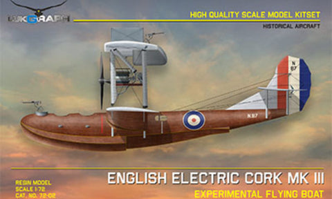 Lukgraph 1/72 resin model kit ENGLISH ELECTRIC CORK Mk.III - 72-02
