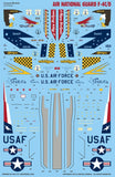 Caracal Models 1/72 Decals for Air National Guard F-4C/D Phantom - CD72023