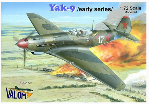 Valom Model kit 1/72 scale Yak-9 Early Series - 72079 - New Old Stock
