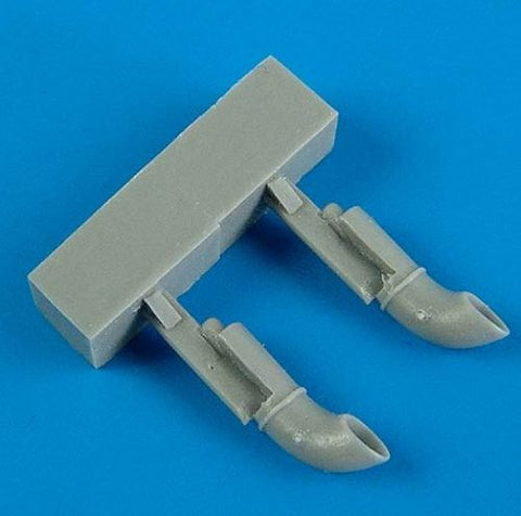 Quickboost by Aires 1/72 scale resin Swordfish Mk.I Exhaust for Airfix QB 72363