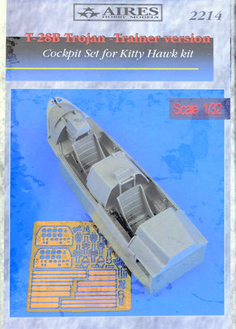 Aires 1/32 T-28B Trojan cockpit set - trainer (Kitty Hawk) - AIRES2214