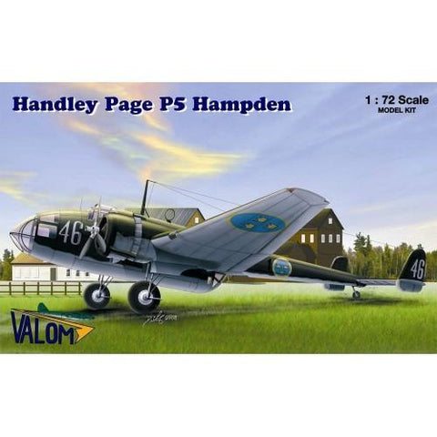 Valom Model kit 1/72 Handley Page P5 Hampden - 72045
