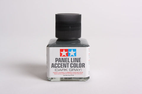 Tamiya PANEL LINE ACCENT COLOR Dark Gray - #87199