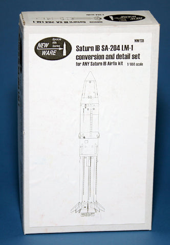 New Ware 1/144 Saturn IB SA-204 LM1 Conversion and Detail set for Airfix - NW139
