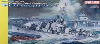 Dragon 1/350 Scale Modern Sea Power Series USS Gearing DD-710 1945 - #1029