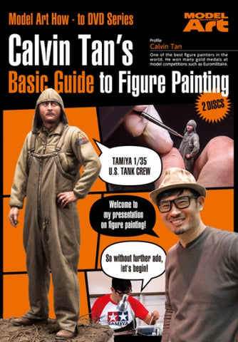 Model Art Calvin Tan's Basic Guide to Figure Painting - DVD NTSC format MDA-005