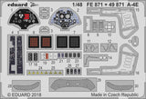 Eduard 1/48 A-4E for Hobby Boss - 49871 - Photoetch Detail