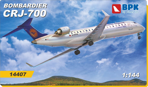 Big Planes Kits 1/144 scale CRJ-700 Bombardier - kit 14407 Lufthansa Markings